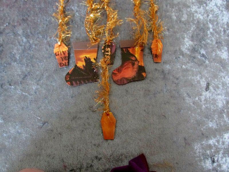 King Diamond Christmas Ornaments Heavy Metal Upcycled Magazine #2 by ...