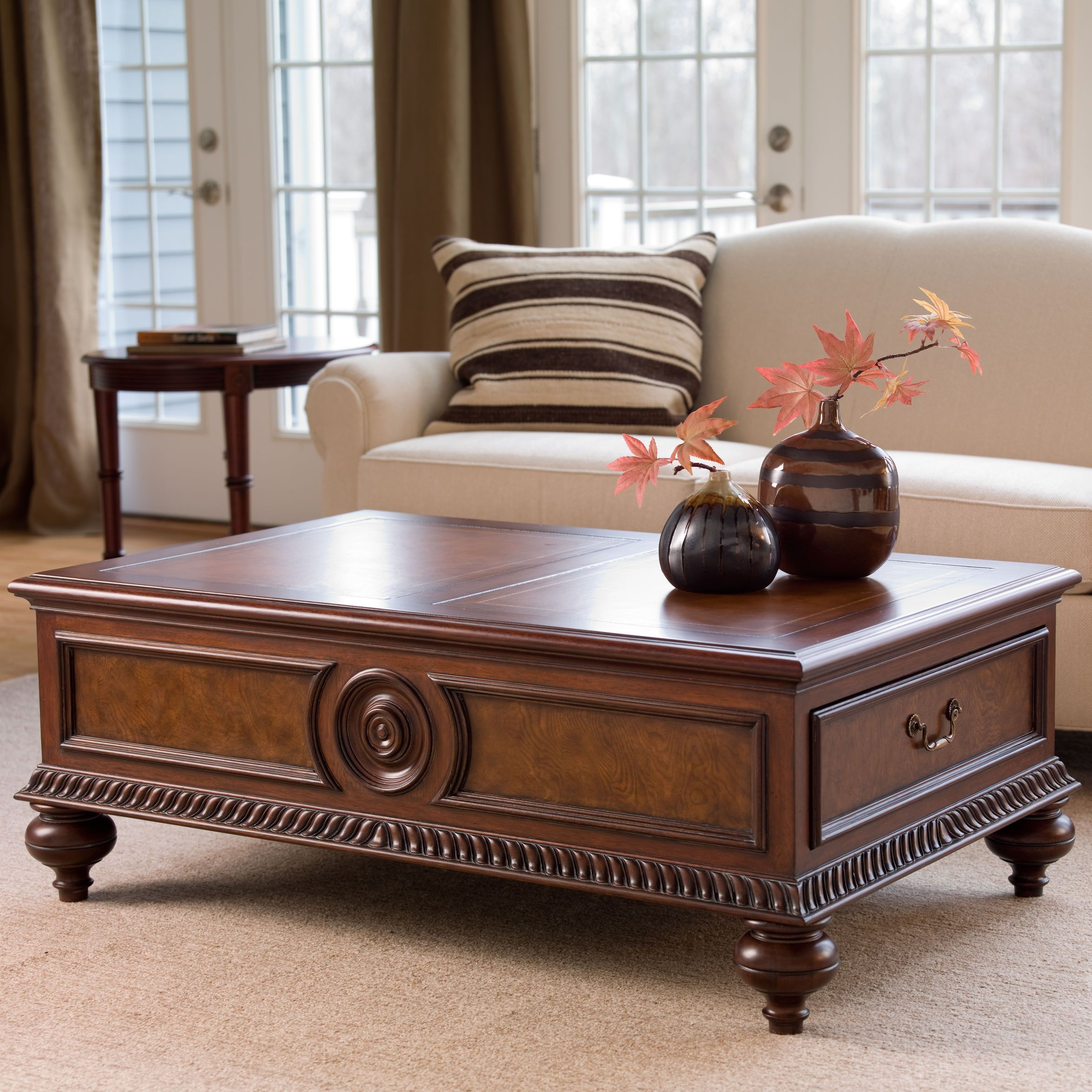 Morley Coffee Table Ethan Allen Us Coffee Table Living Room