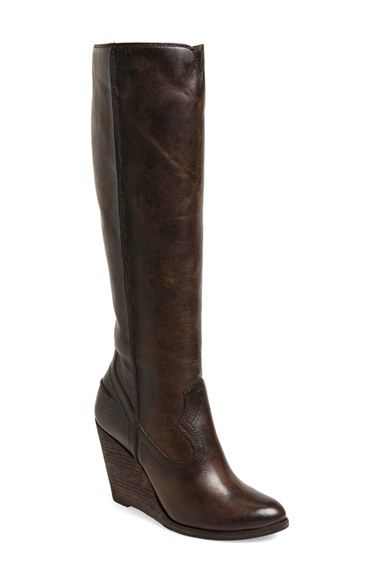 ada083fde82 Frye  Cece  Tall Wedge Boot (Women) available at  Nordstrom