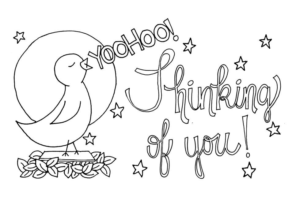 Looking For New Coloring Pages For Your Next Coloring Party Or Just Need A Qui Free Printable Greeting Cards Printable Greeting Cards Printable Coloring Cards