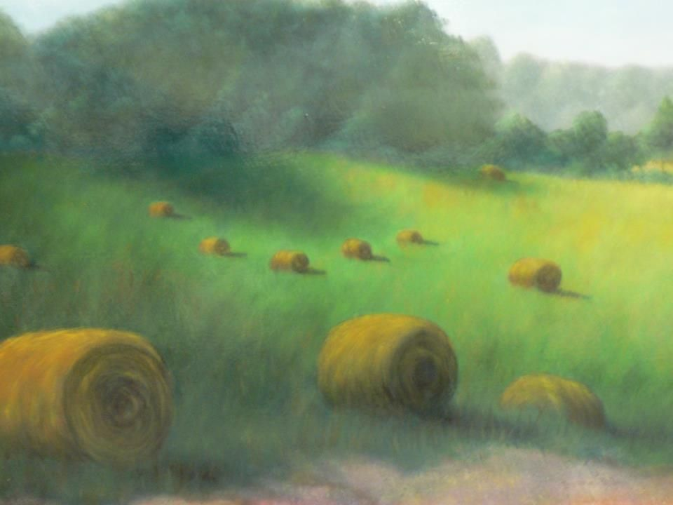 Be sure to check out this beautiful painting from Stockton Studios. This painting features a view of a calm Catawba Farm.  Retail Value: $850.00