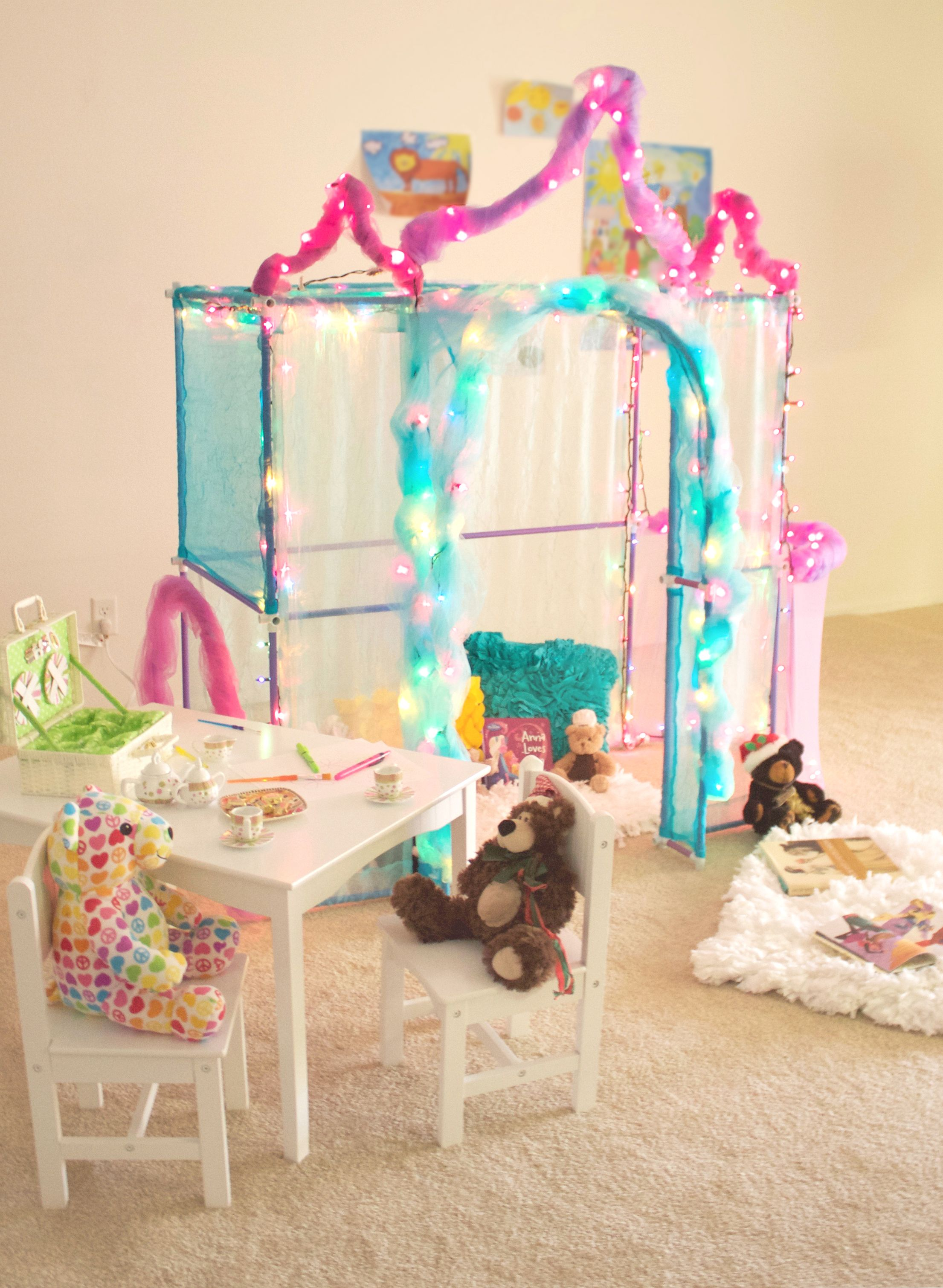 Adorable princess fort for your little girl Fort Ideas