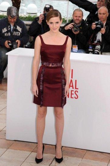 Emma Watson con abito Christopher Kane Cannes 2013