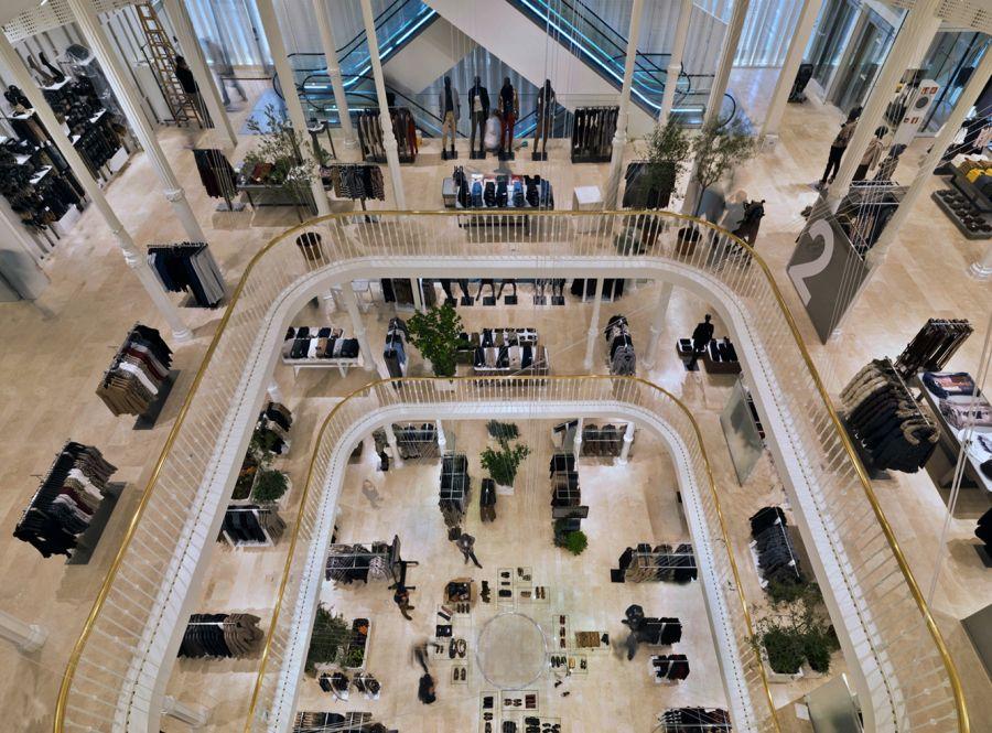 Zara Store Palazzo Bocconi Roma Gruppo Inditex Retail Design