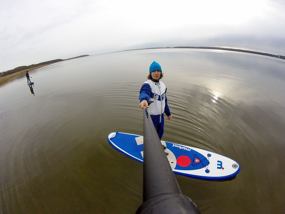 Thank you SUP Surfer Poland for these Mistral SUP images from Lake