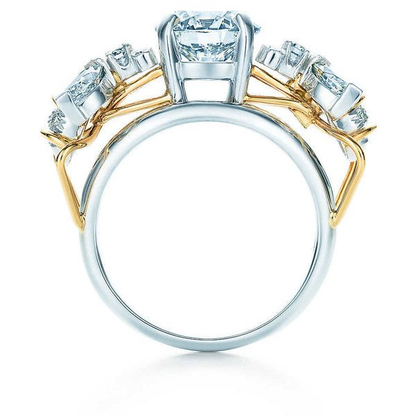 feb43cb5d Schlumberger Two Bees Ring Engagement ($68,900) ❤ liked on Polyvore  featuring jewelry, rings, bee ring, honey bee ring, bumble bee ring, 18k  ring and bee ...