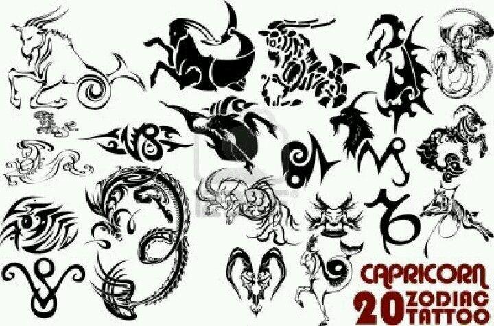 Capricorn Tattoo Design Sheet Mmm Pinterest Capricorn Tattoo