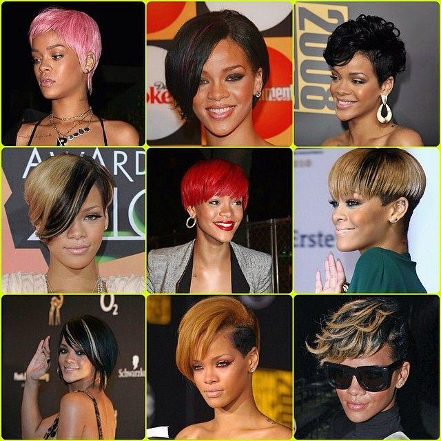 Rihanna Short Hair Inspo Rihanna Short Hair Short Hair Styles Rihanna Hairstyles