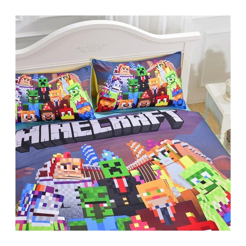 minecraft kinder bettw sche bedding set g nstig preiswert kinderbett http my best. Black Bedroom Furniture Sets. Home Design Ideas
