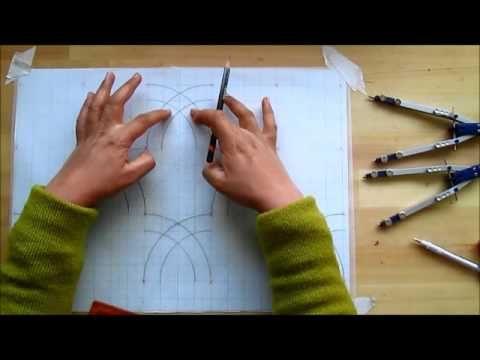 Islamic Geometry Construction Instruction 1 A Moroccan Motif Islamic Art Pattern Islamic Motifs Islamic Art