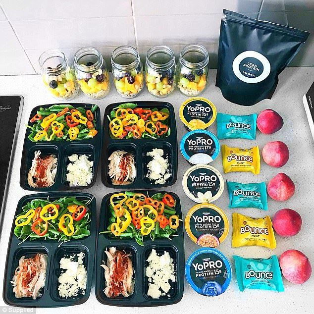 Woman shares her top tips for how you can meal prep like a