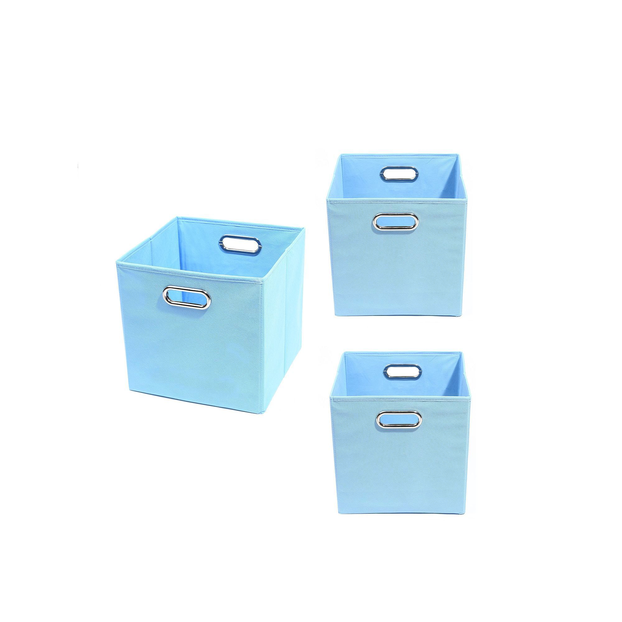 Best Modern Littles 3 Pc Solid Storage Bin Set Storage Bins 400 x 300