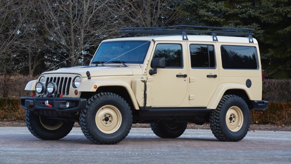 Jeep S Diesel Land Rover Knockoff Might Be Cooler Than A Real