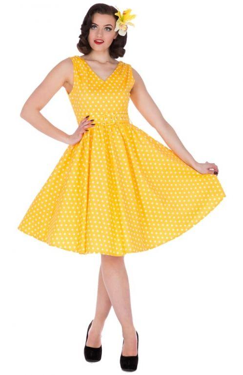 47206d9fb8a3a9 Dolly and Dotty retro šaty s puntíky Wendy