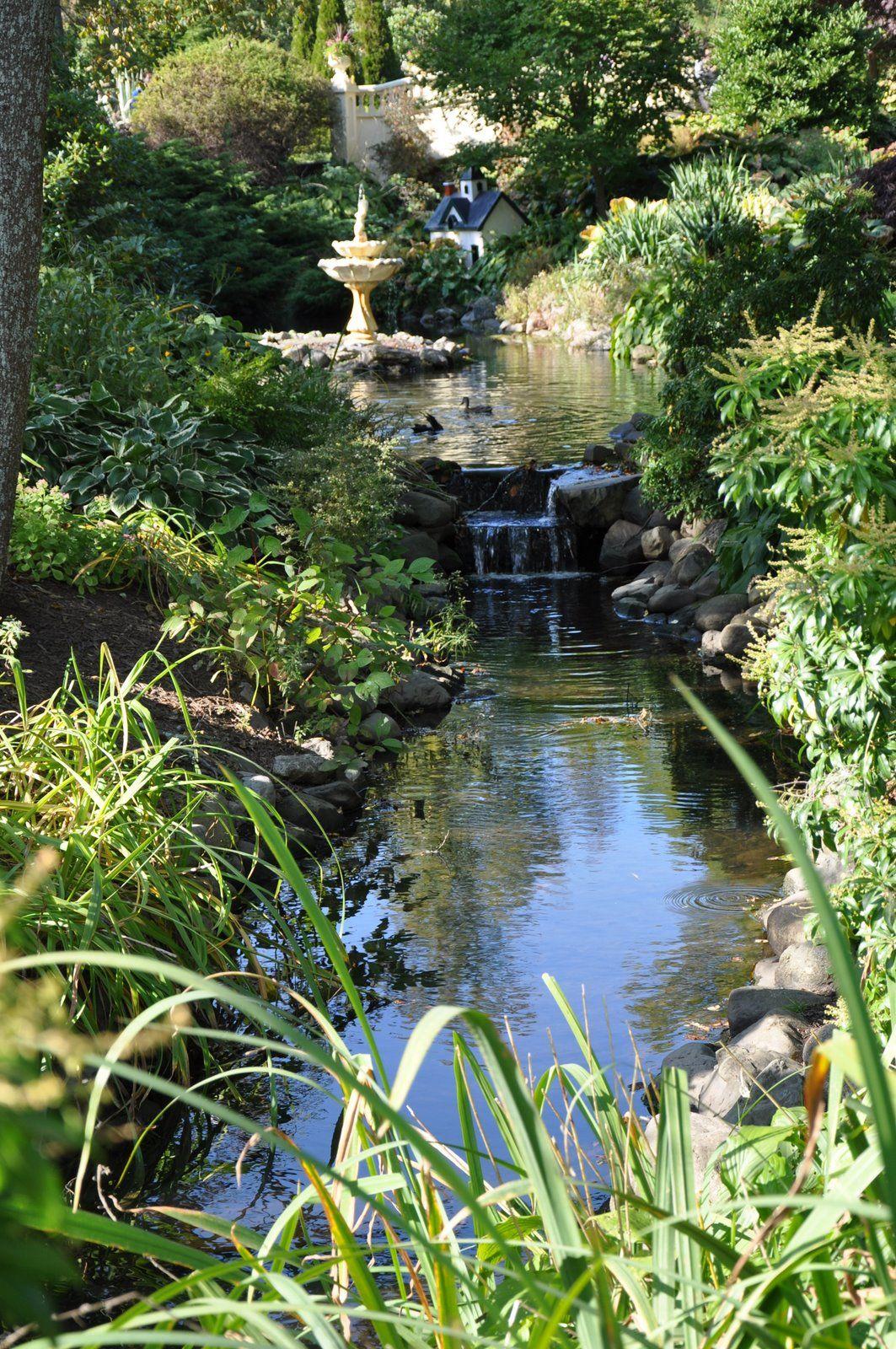 Secret Garden: Water Features In The