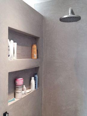 Vanaf nu verkrijgbaar: Beton Lissé voor de badkamer   Towel storage ...