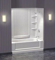 3 Piece Tub Surround Direct To Stud Installation Tub Surround Girls Bathroom Bathroom Decor