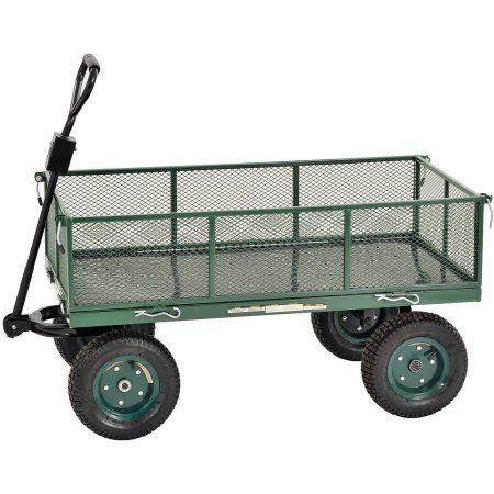 Patio Garden Garden Wagon Utility Cart Wheelbarrow