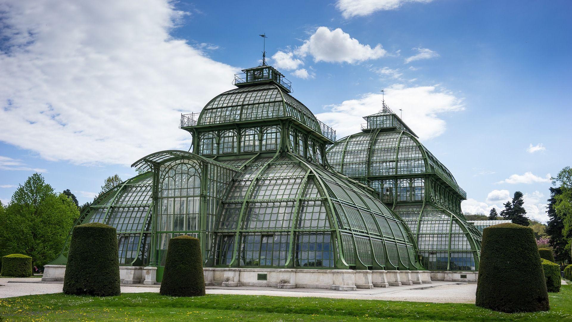 Palmenhaus Schönbrunn Wien Vienna Steel Glass