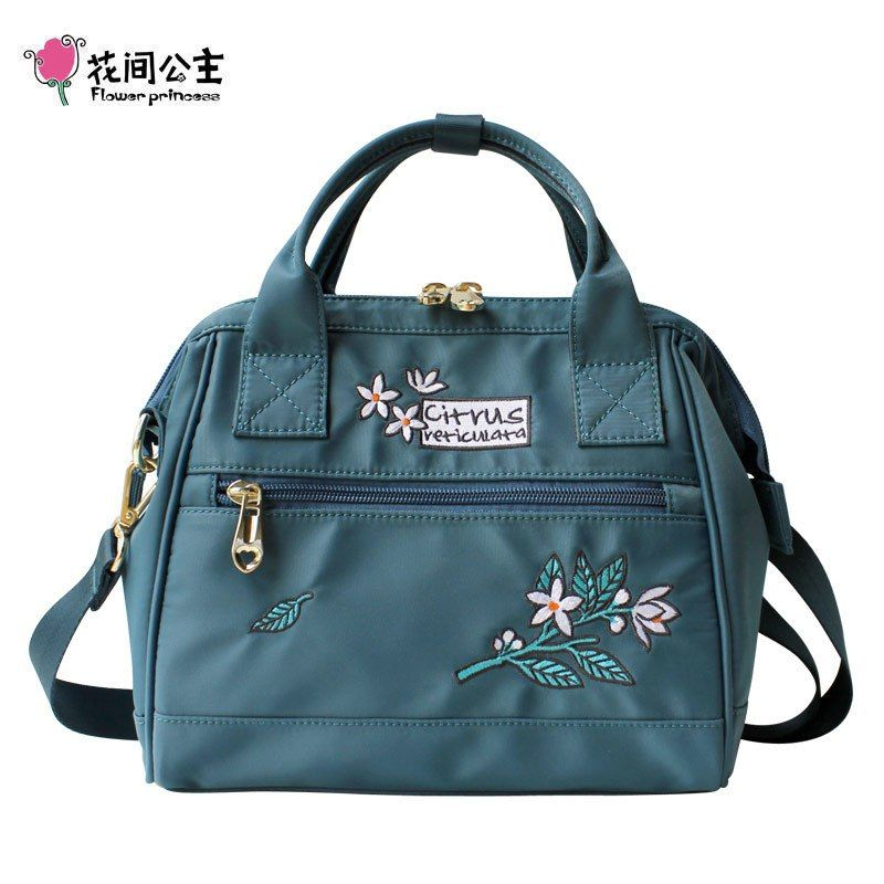 1fe256f696ed Flower Princess Luxury Women Handbags Women Crossbody Bags Nylon Women  Shoulder Bag Female Messenger Bag Fashion