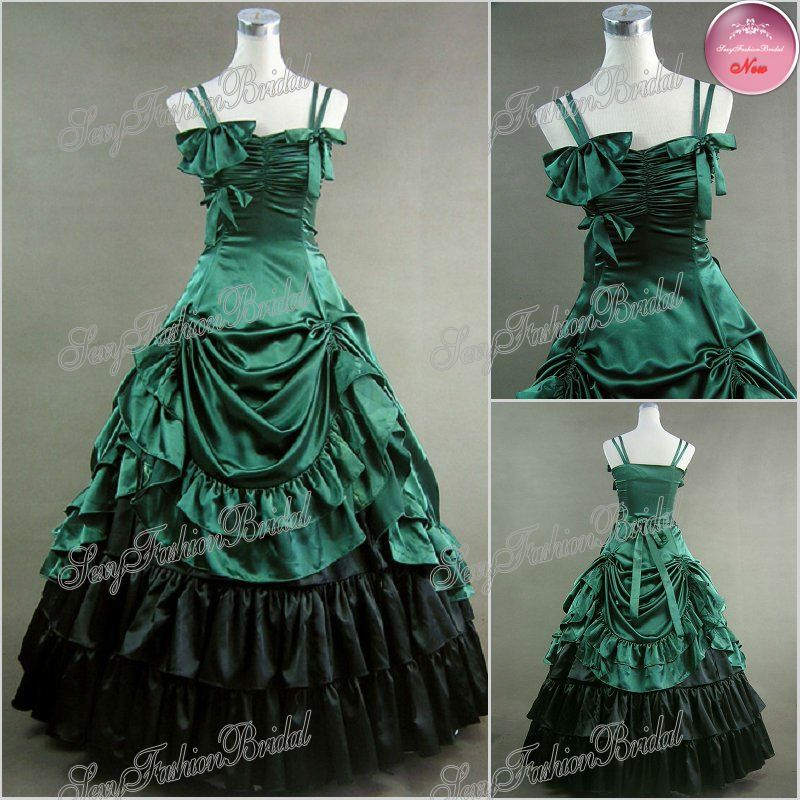 vintage victorian gowns  blend Victorian style gothic style ...