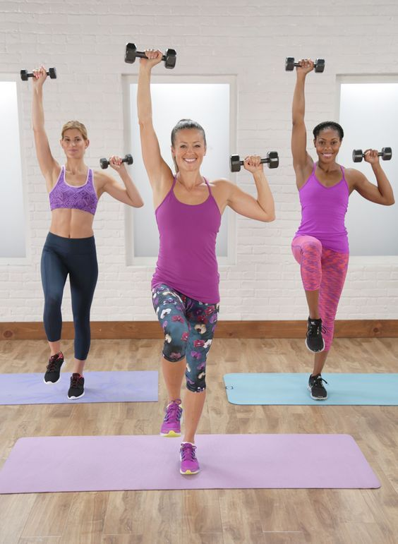 This 10-minute workout will help tighten and tone your arms. All you need  is a set of dumbbells!