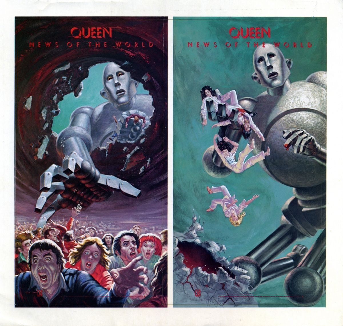 Queen - News of the World | Album Covers in 2019 | Queen albums