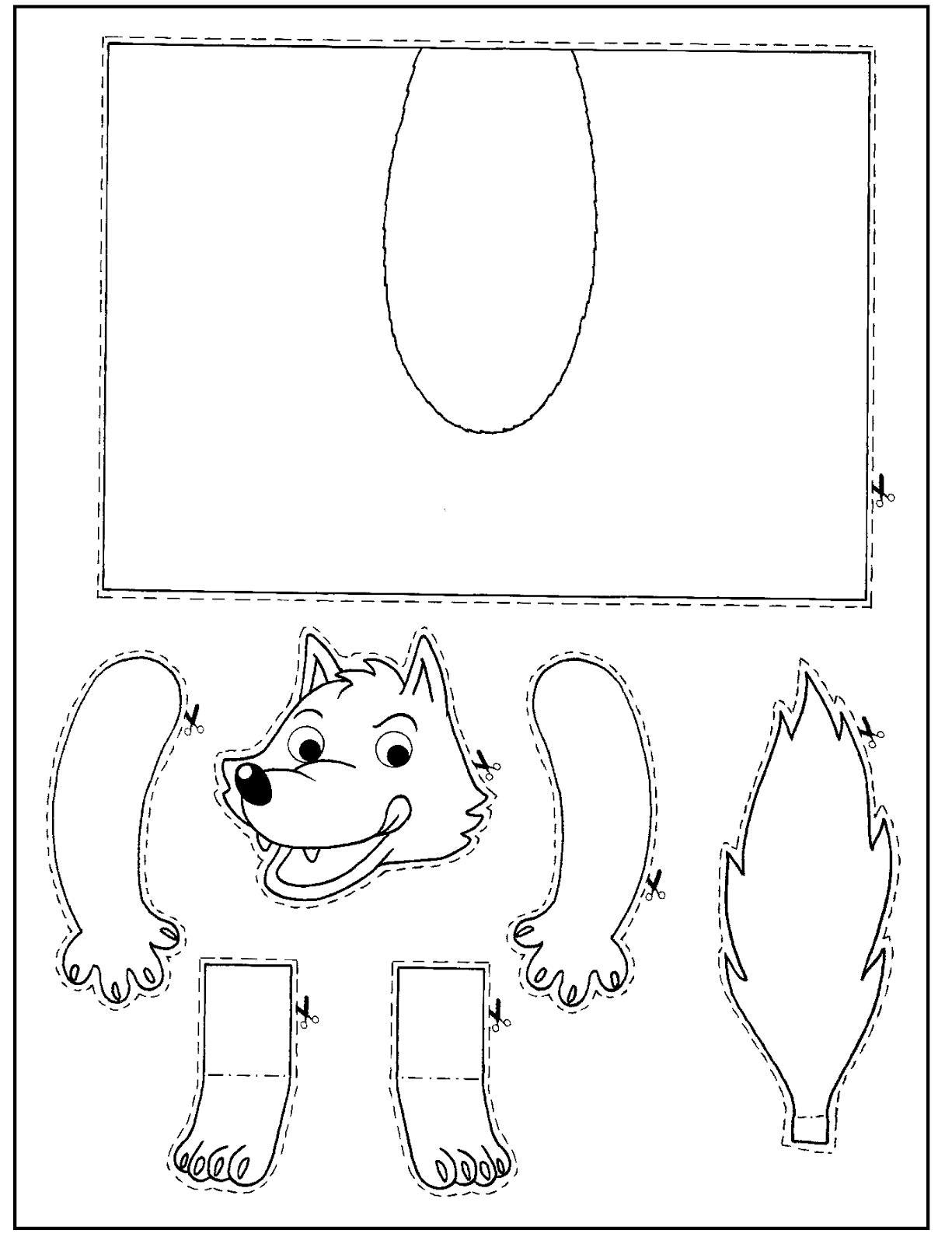 Lobo.png (1225×1600) | cumples | Pinterest | Wolf, Aula y Cerdo