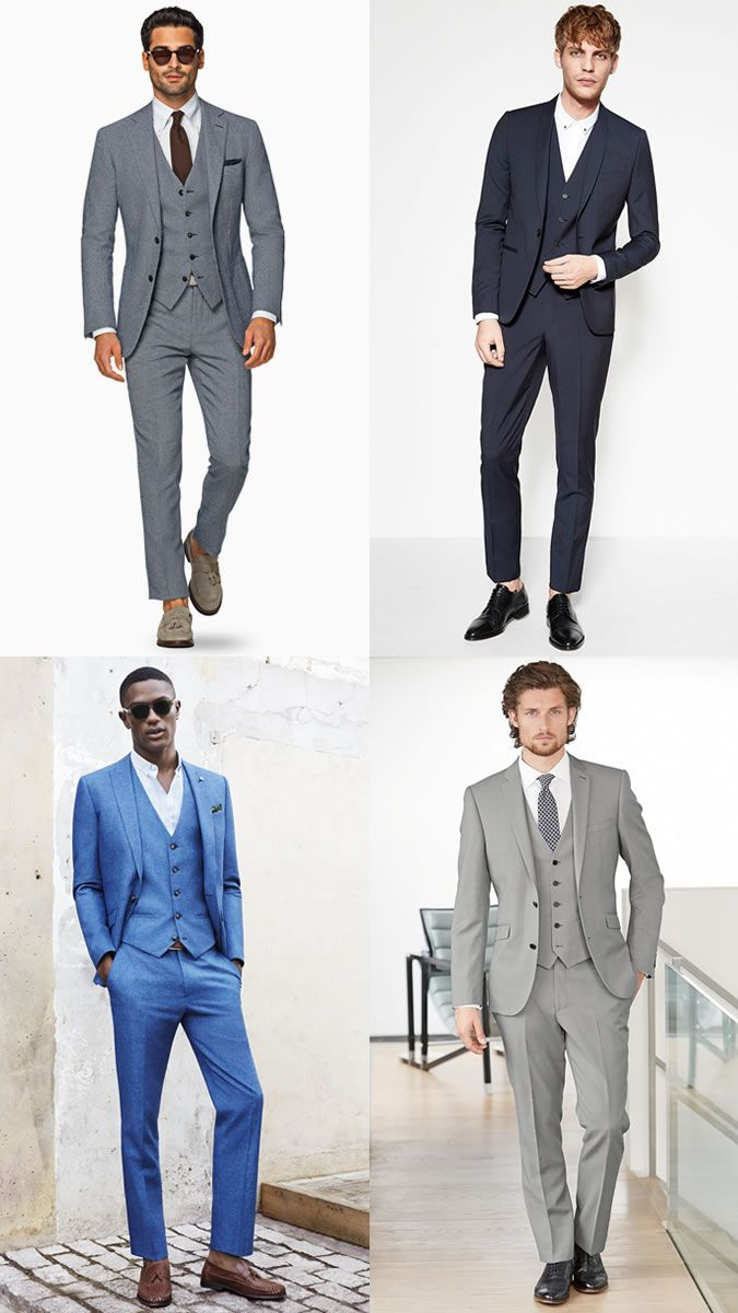 Men S Three Piece Suits Spring Summer Wedding Guest Outfit