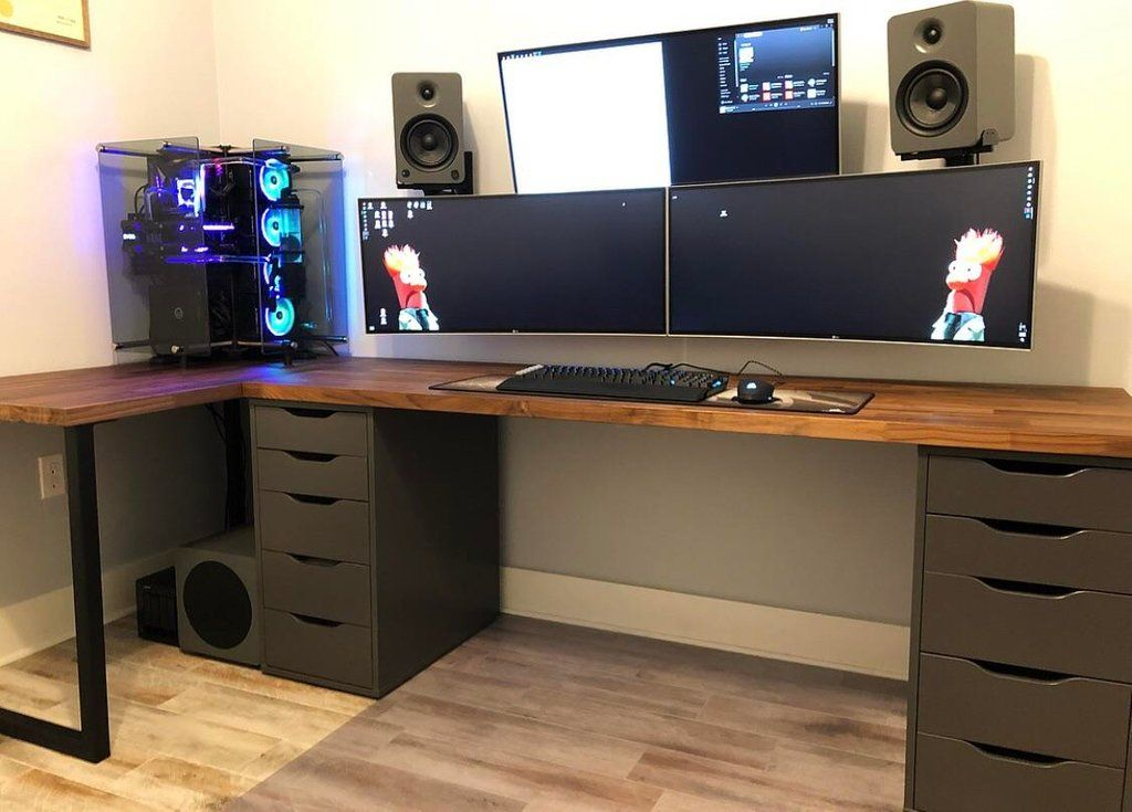 New Home Office Setup battlestations House in 2019