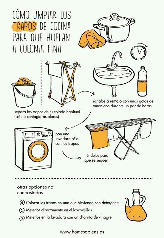 Limpiar Trapos De Cocina Limpiezadelhogar Ideasdelimpieza Tipsdelimpieza Trucos De Limpieza Consejos De Limpieza Rutinas De Limpieza