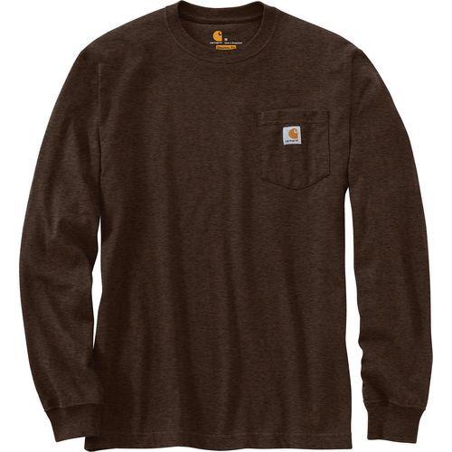 88cf49123d1 Carhartt Men s Workwear Pocket T-shirt (Brown Dark Size XX Large) - Men s  Work Apparel