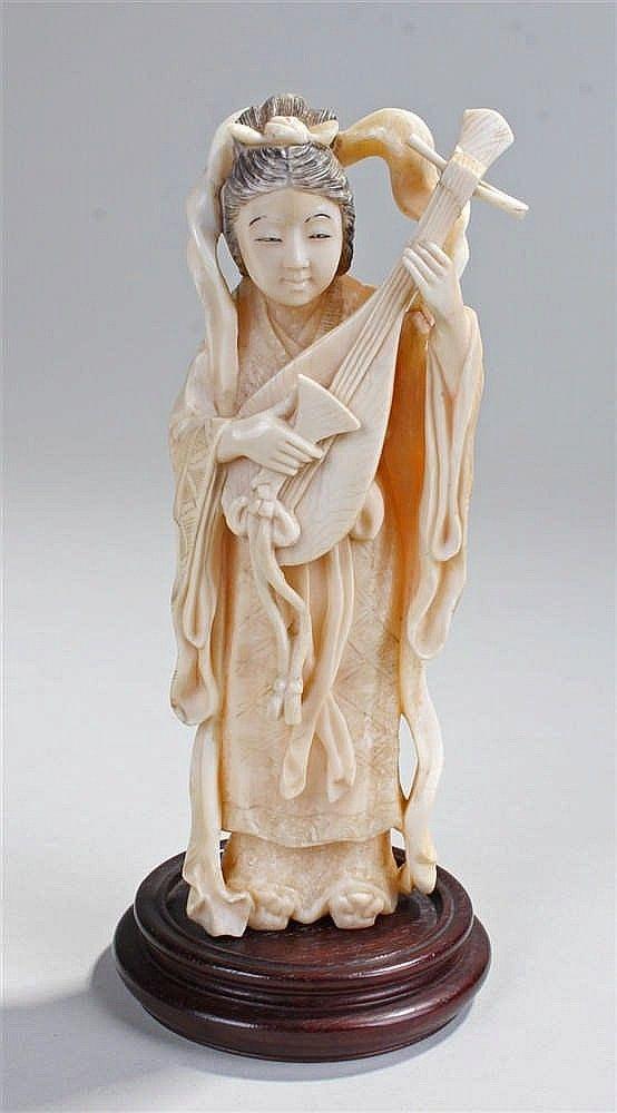 ab7fb1509 Early 20th Century ivory okimono