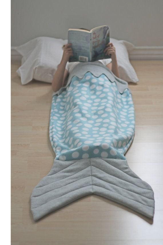 Mermaid Tail Shark Tail Fish Tail Whale Tail Blanket Cocoon Wrap ...
