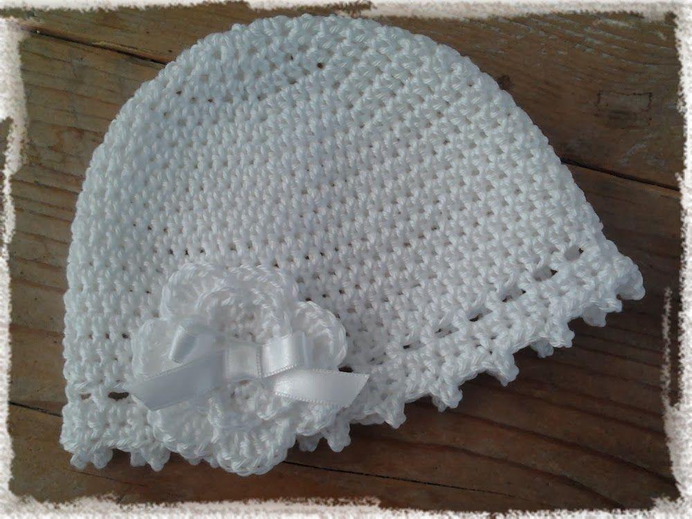 Gratis Haakpatroon Babymutsje Hope Hoede Pinterest Crochet