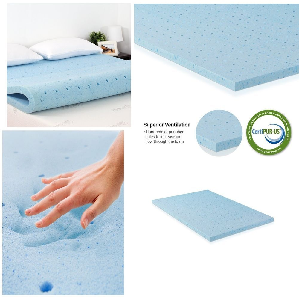 ventilated hd foam anti-allergic health care pad bed queen size