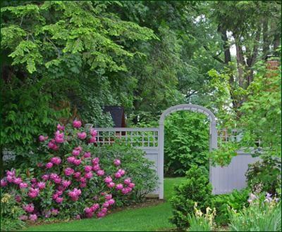 Arbor in the Garden!