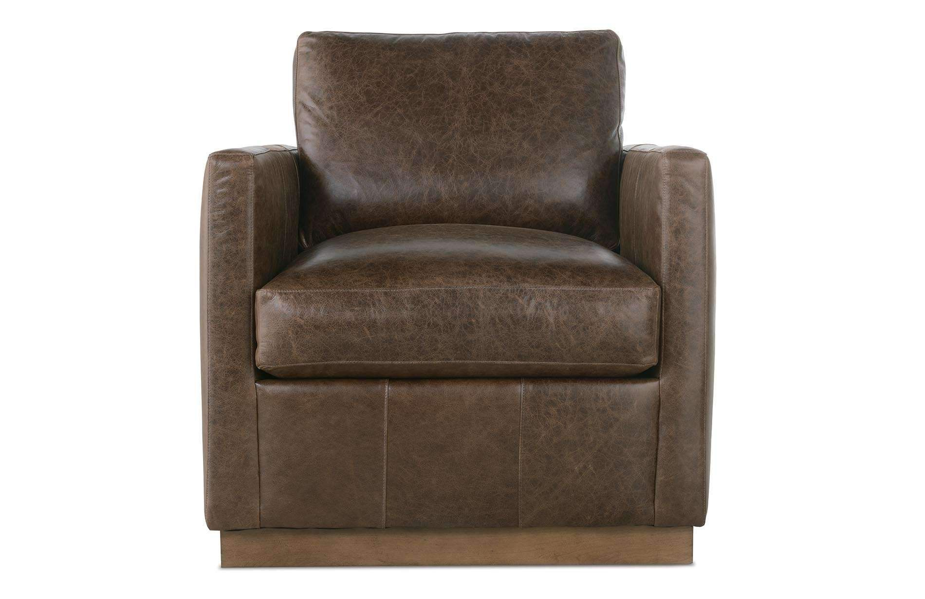 Ashton Swivel Chair Leather swivel chair, Swivel chair