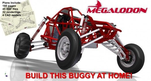 Megalodon plans diy vehicles pinterest megalodon and vehicle build this top of the line buggy at home sciox Choice Image