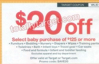 Find baby deals by category