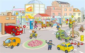 Resultado De Imagen De Dibujo Barrio Infantil CALLE