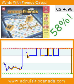 Words With Friends Classic (Toy). Drop 58%! Current price C$ 4.98, the previous price was C$ 11.98. https://www.adquisitiocanada.com/words-friends/classic