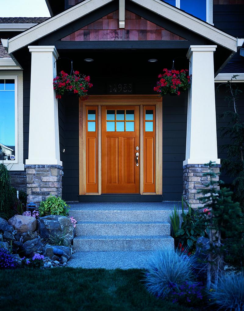 Entry Door From Waudena Preferred Window And Door Is A Proud Waudena Dealer Call Us Today For With Images Entry Door With Sidelights Fiberglass Entry Doors Entry Doors