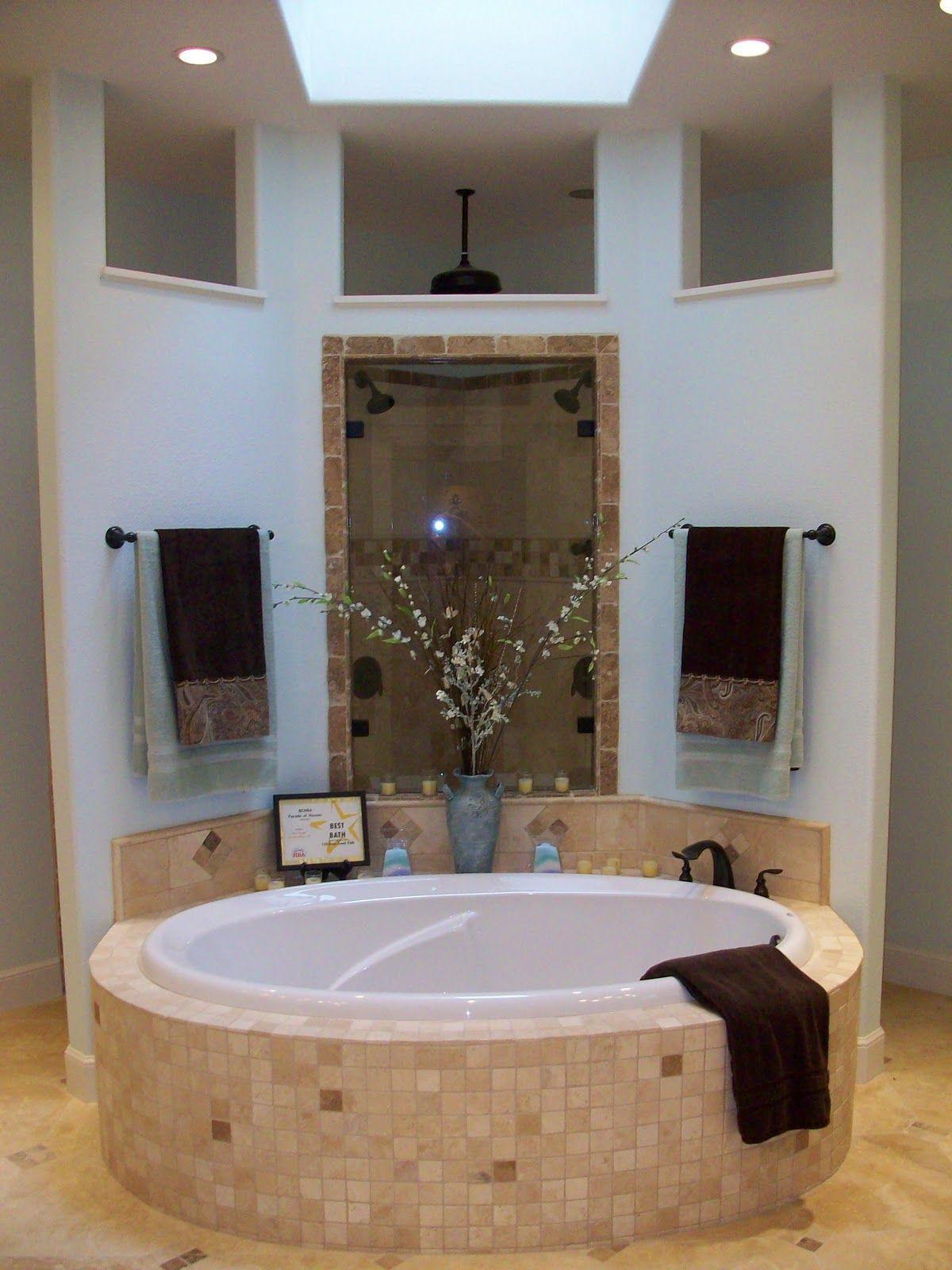 Walk Behind Shower Dream Bathrooms House Bathroom Modern