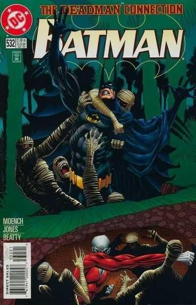 Batman #532 - The Deadman Connection part 3 Batman and Deadman together. July 1996.