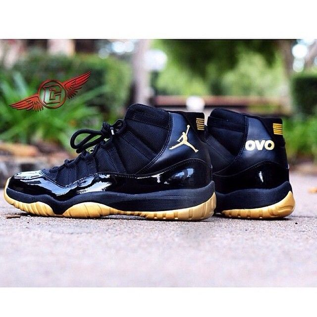 89ebd416541 Illest Sneakers | Can these OVO 11's beat the OVO 6's? | Customs by ...