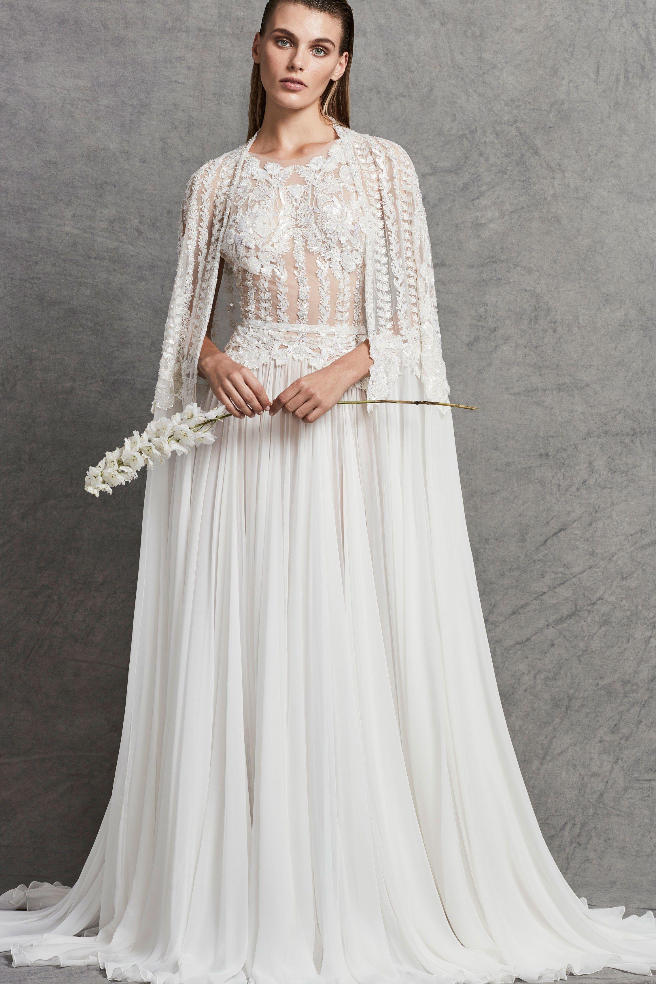 Zuhair Murad Bridal Fall 2018 Fashion Show | Zuhair murad bridal ...