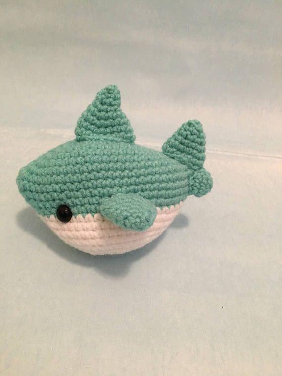 90fd07c3021 Shark Amigurumi Pattern PDF Megalodon Great White Shark