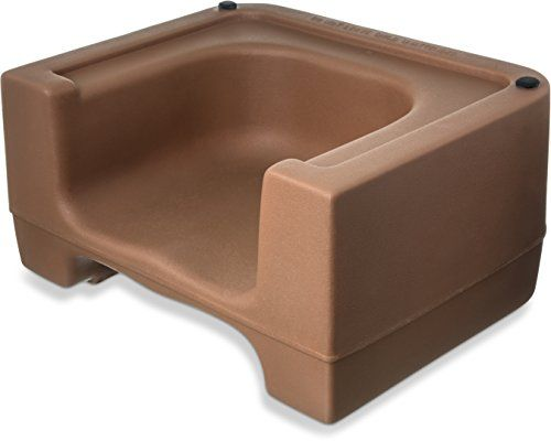 Carlisle 711006 Plastic Dual Seat Restaurant-Style Booster Chair ...