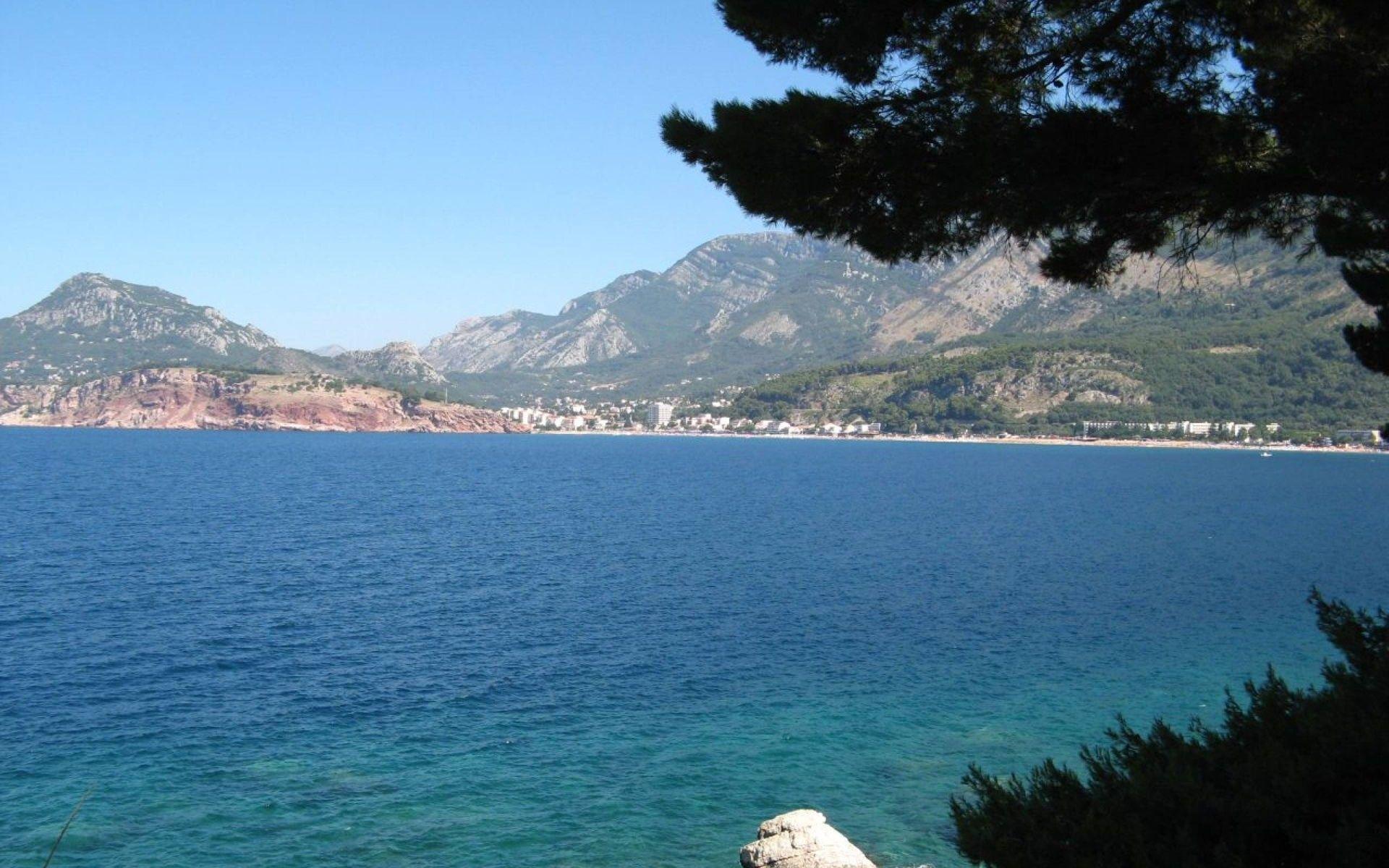 Zlatna Obala Sutomore Crna Gora Montenegro Beach